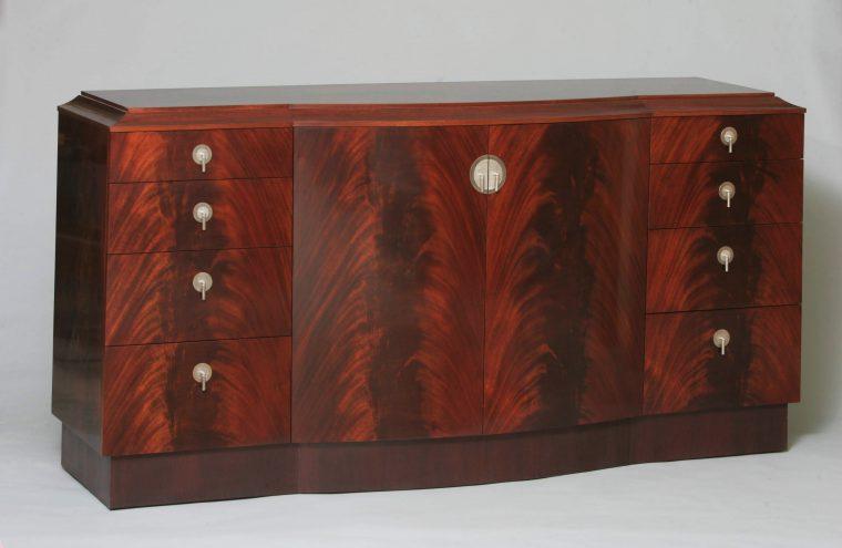 Wolff & Nagel - Mahogany Art Deco Sideboard